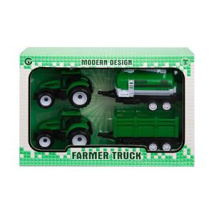 2'li Römorklu Traktör