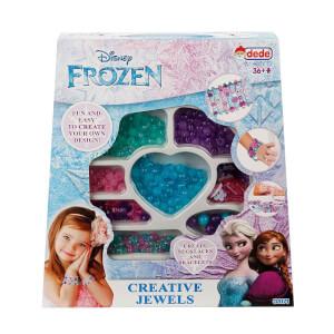 Frozen Büyük Kutulu Boncuk Takı ve Tasarım Seti