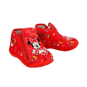 Minnie Mouse Fermuarlı Panduf 26-29