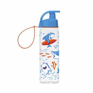 Köpekbalığı Desenli Askılı Matara 500 ml.