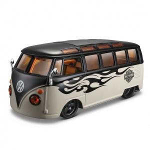 1:25 Maisto Volkswagen Van Samba Model Araba