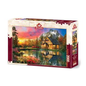 2000 Parça Puzzle : Dört Mevsim Bir An
