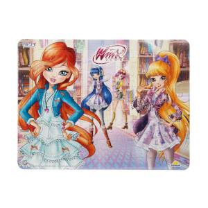 36 Parça Puzzle : Winx Kızları Alışverişte