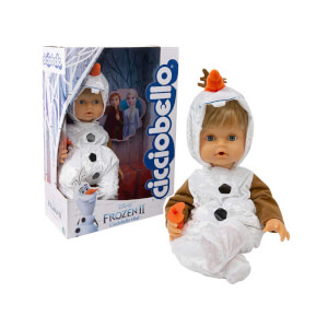 Frozen 2 Cicciobello Olaf Kıyafetli