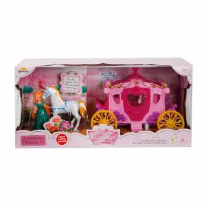 Sesli ve Işıklı Prenses At Arabası Oyun Seti