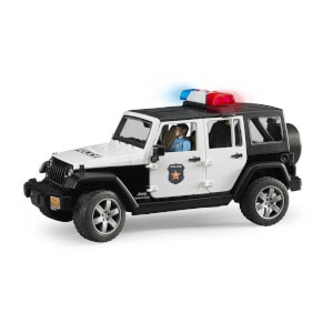 1:16 Bruder Jeep Wrangler U.R Polis Aracı ve Memur