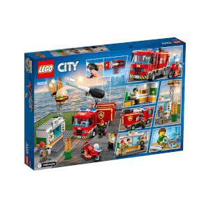 LEGO City Fire Hamburgerci Yangın Söndürme Operasyonu 60214