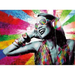 500 Parça Puzzle : Music & Colours