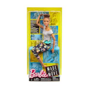 Barbie Sonsuz Hareket Bebeği FTG82