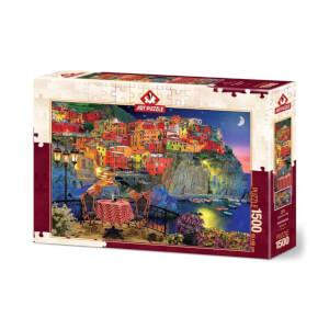 1500 Parça Puzzle : Cinque Terre, Italy