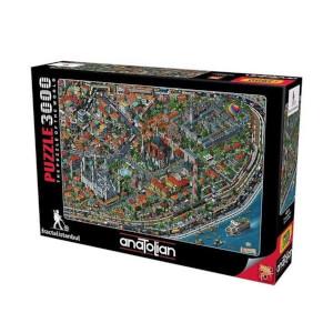 3000 Parça Puzzle : Fractal İstanbul