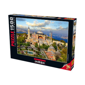1500 Parça Puzzle : Ayasofya