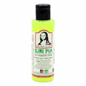 Sıvı Yapıştırıcı Slime Jeli Fosforlu Sarı 70 ml