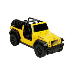 1:26 Uzaktan Kumandalı Işıklı Wrangeler Rubicon Jeep 18 cm.
