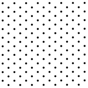 BugyBagy Siyah Yuvarlak Duvar Sticker Polska Dots Küçük 200 Adet 3 cm.