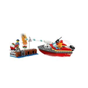 LEGO City Fire Rıhtım Yangını 60213