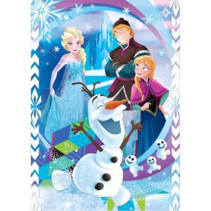 104 Parça Puzzle + 3D Model : Frozen