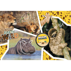 104 Parça Puzzle : National Geographic Kids Wildlife
