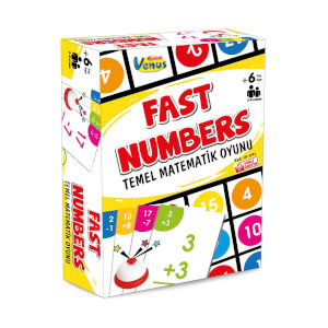 Fast Numbers Temel Matematik Oyunu