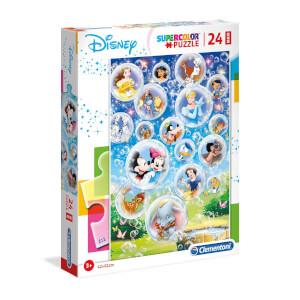 24 Parça Maxi Puzzle : Disney Classic