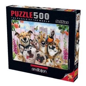 500 Parça Puzzle : Dostlarla Selfie