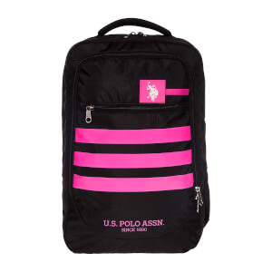 U.S. POLO Okul Çantası Siyah-Pembe 20120