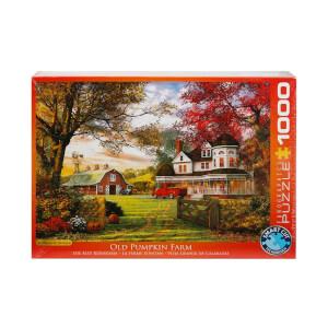 1000 Parça Puzzle : Old Pumpkin Farm - Dominic Davidson