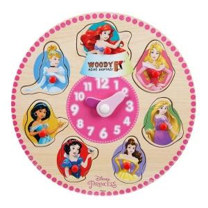 Disney Princess Ahşap Bultak Tutmalı Saat