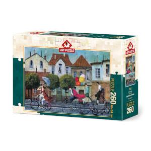 260 Parça Puzzle : Tek Pedal