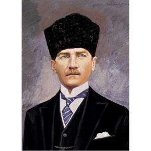 500 Parça Puzzle : Cumhurbaşkanı Gazi Mustafa Kemal Atatürk