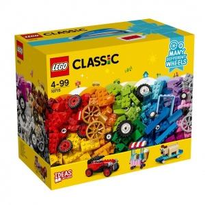 LEGO Classic Tekerlekli Yapım Parçaları 10715
