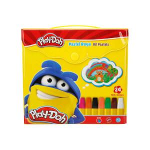 Play Doh Pastel Boya Çantalı 24 Renk