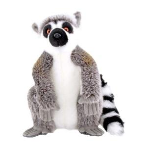 Oturan Lemur Peluş 28 cm.