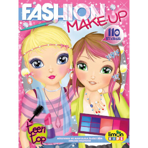 Fashion Make Up Boyama Kitabı