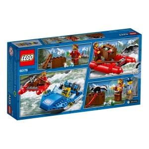 LEGO City Police Vahşi Nehir Kaçışı 60176