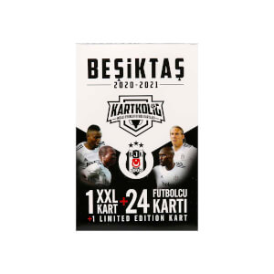 Beşiktaş 2020-2021 Sezon İmzalı Oyunlu Futbolcu Kartları
