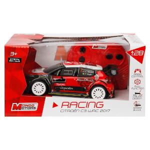 1:28 Uzaktan Kumandalı Citroen C3 WRC 2017 Araba 15 cm.