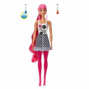 Barbie Color Reveal Renk Değiştiren Sürpriz Barbie Renk Bloklu Bebekler Seri 2 GWC56