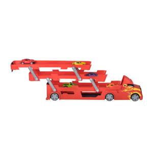 Teamsterz Transporter 3 Katlı Kamyon Oyun Seti