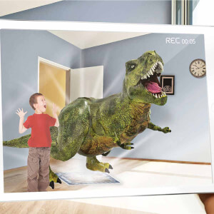 AR Floor Puzzles Dinocodes Arttırılmış Gerçeklik Puzzle