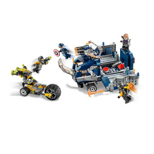 LEGO Marvel Avengers Movie 4 Avengers Kamyon Saldırısı 76143