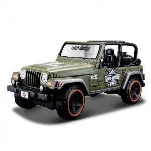 1:27 Maisto Jeep Wrangler Rubicon Model Araba
