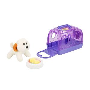 Çantalı Peluş Köpek Oyun Seti