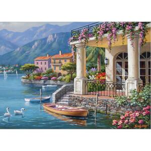 3000 Parça Puzzle : Körfezdeki Villa