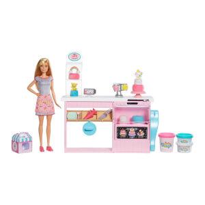 Barbie'nin Pasta Dükkanı Oyun Seti GFP59