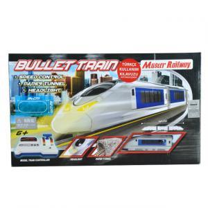 Işıklı Hız Kontrol Panelli Tren Seti