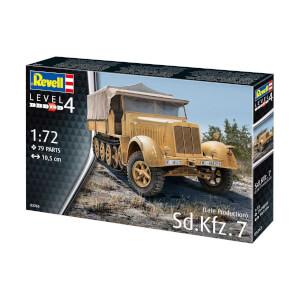 Revell 1:72 Sd Kfz 7 Late Production Araba 3263