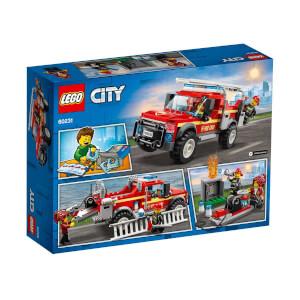LEGO City Town İtfaiye Şefi Müdahale Kamyonu 60231