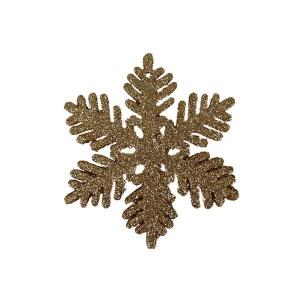 Yılbaşı Ağaç Süsü 6'lı Kar Motifi 10 cm.