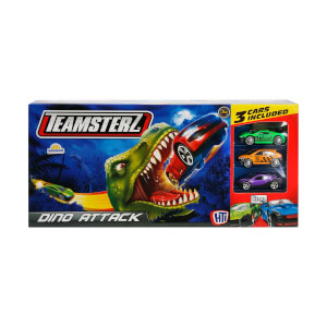 Teamsterz Dinozor Saldırısı 3 Araçlı Pist Seti
